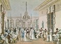 The Cafe Frascati in 1807 - Philibert-Louis Debucourt