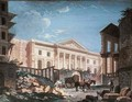 Construction of the Academie de Chirurgie Paris - Pierre-Antoine Demachy