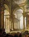 Temple in Ruins - Pierre-Antoine Demachy
