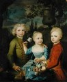 The Children of Councillor Barthold Heinrich Brockes 1680-1747 2 - Balthasar Denner