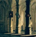 Interior of a Church - Anthonie Delorme