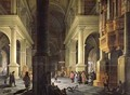 Interior of a Temple 1652 - Anthonie Delorme