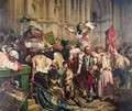 The Conquerors of the Bastille before the Hotel de Ville in 1789 - Hippolyte (Paul) Delaroche