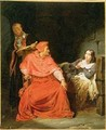 Joan of Arc 1412-31 Interrogated by the Cardinal of Winchester - Hippolyte (Paul) Delaroche