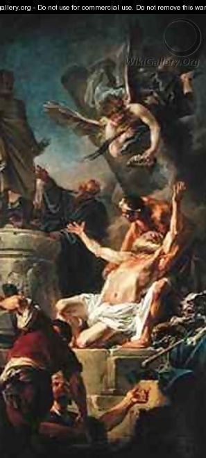 The Martyrdom of St Andrew - Jean-baptiste Deshays