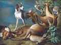 Still Life of Dead Game with Hounds - Alexandre-Francois Desportes