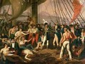 Commander Joachim Murat 1767-1815 decorating Admiral G Bausan on board the frigate Ceres - G. Deschamps