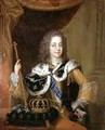 Portrait of Louis XV 1710-74 as a young man - Pierre-Simon Dequoy
