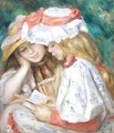 Two Girls Reading - Pierre Auguste Renoir