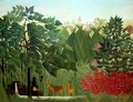 The Waterfall - Henri Julien Rousseau