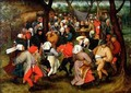 The Outdoor Wedding Dance - Pieter The Younger Brueghel