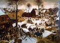The Census Taking of Bethlehem - Pieter The Younger Brueghel
