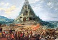 The Tower of Babel - Joos or Josse de, The Younger Momper