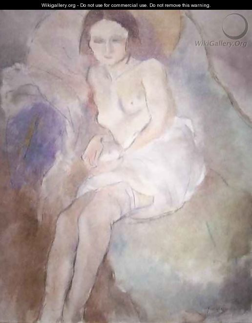 Seated Woman 2 - Jules Pascin
