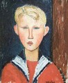The Blue eyed Boy 2 - Amedeo Modigliani