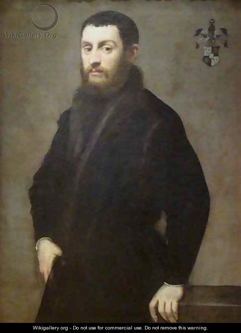 Young Man from the Renialme Family - Jacopo Tintoretto (Robusti)