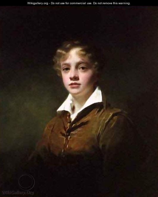 Master Wm Blair - Sir Henry Raeburn