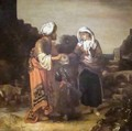 Hagar and Ishmael Taking Leave of Abraham - Barent Fabritius