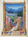 The Discovery of the Holy Cross from the Tres Riches Heures du Duc de Berry - Jean Colombe