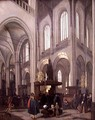 Interior of New Church of Amsterdam - Emanuel de Witte