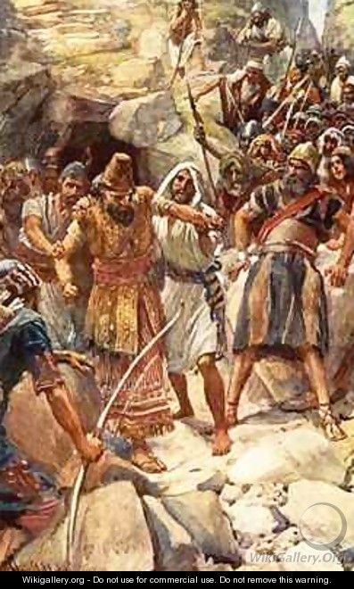 The fate of the Canaanite kings - Harold Copping