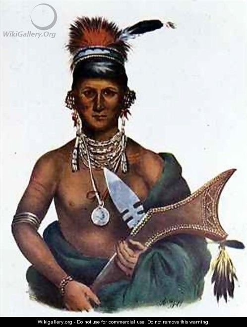 Appanoose a Sauk Chief - (after) Cooke, George