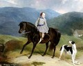 Master Edward Coutts Marjoriebanks on his Pony - Abraham and Webster, Thomas Cooper