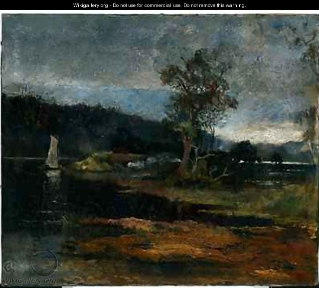 Low Tide Hawkesbury River - Charles Edward Conder