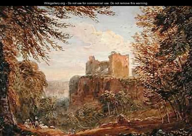 Chepstow Castle - (after) Cox, David
