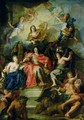 Louis XIV 1638-1715 Crowned by Glory - Antoine Coypel