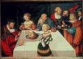 The Feast of Herod - Lucas The Elder Cranach