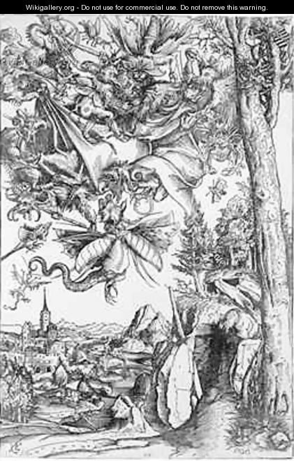The Temptation of St Anthony - Lucas The Elder Cranach