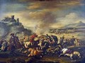 Combat of the Cavalry 2 - Jacques (Le Bourguignon) Courtois