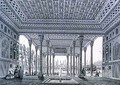 Interior View of the Pavilion of Mirrors Isfahan - Pascal Xavier (after) Coste
