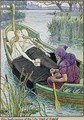 The Death Journey of the Lily Maid of Astolat 2 - Walter Crane
