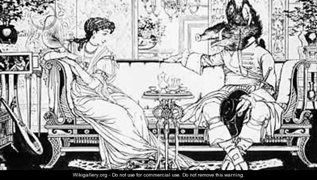 Beauty and the Beast - Walter Crane