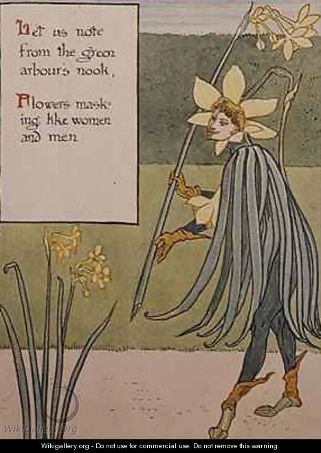 The Jonquil - Walter Crane