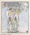 Trumpeters with Lilies - Walter Crane