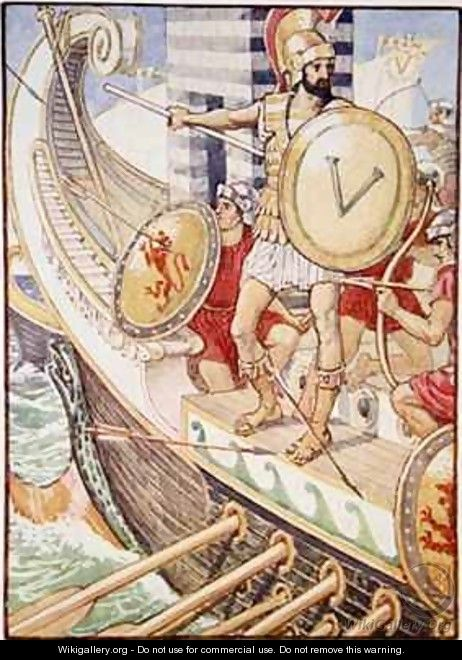 He became a target for every arrow - Walter Crane
