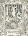 Diana and her nymphs - Walter Crane