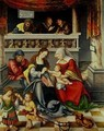 The Altarpiece of the Holy Kinship - Lucas The Elder Cranach