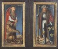 SS Jerome and Leopold - Lucas The Elder Cranach