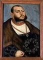 John Frederick the Magnanimous Elector of Saxony - Lucas The Elder Cranach