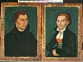 Martin Luther Katharina von Bora - Lucas The Elder Cranach