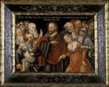 Christ and the Adultress - Lucas The Elder Cranach