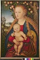 The Virgin and Child under an Apple Tree - Lucas The Elder Cranach