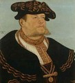 Portrait of the Chancellor Gregor Brueck - Lucas The Elder Cranach