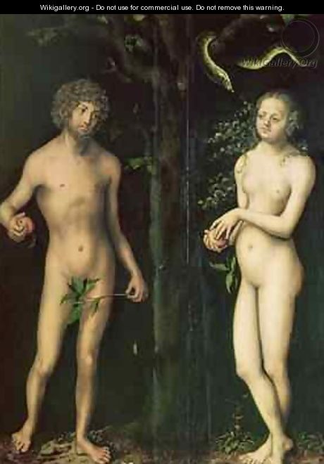 Adam and Eve 5 - Lucas The Elder Cranach