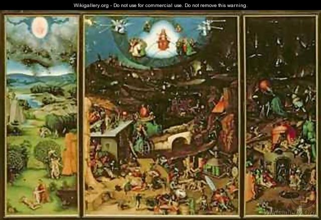 The Last Judgement - Lucas The Elder Cranach