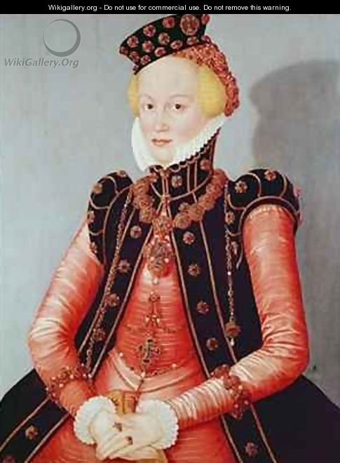 Portrait of a Young Woman - Lucas The Elder Cranach